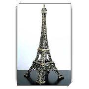 Torre Eiffel Miniatura 16,5cm Paris Champs De Mars