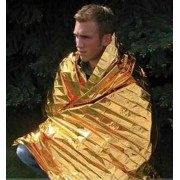 Cobertor Termico De Emergencia Aluminizado 210x160 Cm
