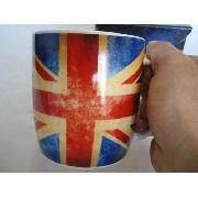 Caneca Porcelana Grã Bretanha Com Caixa Presente