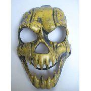 Mascara Haloween Esqueleto Yellow Skull Caveira