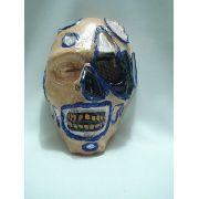 Mascara Fantasma Monstro Feridas Festa Fantasia Haloween 3d