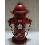 Cofre Hidrante Londres Metal Retro/vintage Antigo