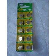 Bateria Botão 1,5v Lr54 10 Peças Gp Alkaline Cell