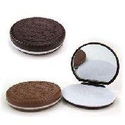 Espelho Em Formato De Biscoito