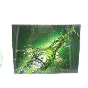 Placa Metal Cerveja Importada Beer 26x20cm