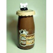 Cofre Plastico Garrafa De Leite Marrom Chocolate Milk Toyart