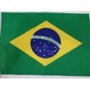 Bandeira Do Brasil 40x30cm Festas Decoração Fantasia Jogos