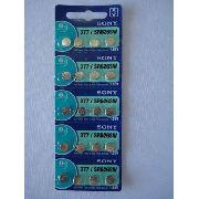 Bateria Sony 377 Sr626sw 20 Peças