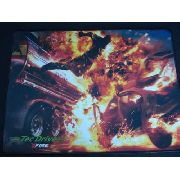 Mouse Pad Gamer Tec Drive X Fire Car Explode 44 X 33cm
