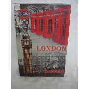 Cofre Livro Londres De Aço Joias Dinheiro Cabine Telefonica