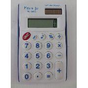 Calculadora Digital Branca E Azul 8 Digitos Moure Jar