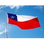 Bandeira Chile 1,5mx90cm Festas Decoração