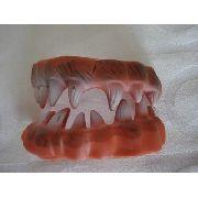 Dentes De Lobisomem Presas Silicone Para Adulto