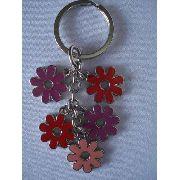 Chaveiro Flor Cinco Peças Flowers