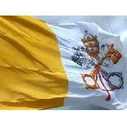 Bandeira Vaticano 1,5mx90cm Festas Decoração