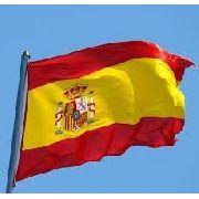 Bandeira Espanha 1,5mx90cm Festas Decoração