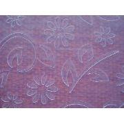 Placa Textura Embossing Folder Flor Flores 14cmx14cm