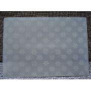Placa Textura Embossing A4 Frozen Floco De Neve 30x21cm