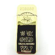 Isqueiro Barra De Ouro Gold Credit Suisse