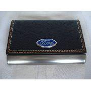 Porta Cartão De Visitas Ford Inox Frete Gratis