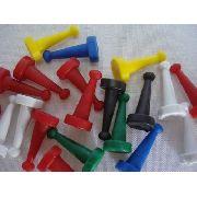 Conjunto Peão Jogo Pinos Ludo 300 Und + 150 Dados 10mm