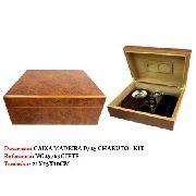 Caixa Umidificador 25 Charutos Madeira Cedro Vg25769giftb