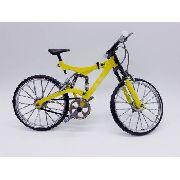Miniatura Bicicleta Track Moutain Bike Mini Amarela
