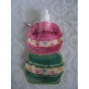 Garrafa De Água Dobrável Bolo Cupcake Flexível Reutilizável