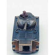 Apontador Tanque De Guerra Artilheiro Metal Retro Coleção