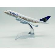 - Avião United Airlines Jato Miniatura