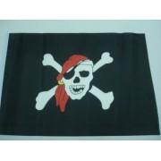 - Bandeira Pirata Jolly Roger 47x30cm