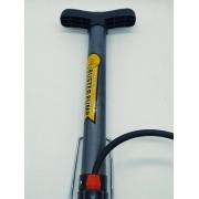 Bomba De Ar Buster Bicicleta Alumínio 52cm Para Pneu Bike