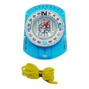 - Bussola Com Capa De Proteção E Cordão Blue Camp