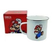 Caneca Aluminio Super Mario Bros Zona Criativa 500ml
