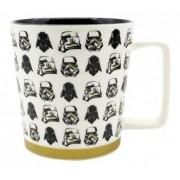 - Caneca Star Wars Branca Stormtrooper Zona Criativa Cerâmica