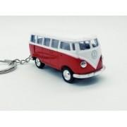 - Chaveiro Metal Kombi Clássica Miniatura Vermelha 7cm