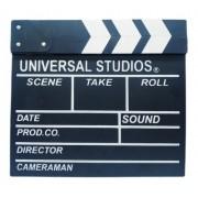 Claquete Cinema Filmagem Decoração Retro 30x27cm