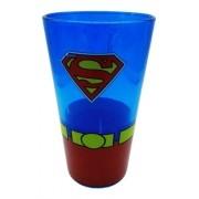 Copo De Vidro Superman Liga Justiça Drink Dc Coleção