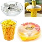 Debulhador De Milho Manual Corn Kerneler Cozinha Utensilios
