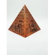 - Enfeite Estátua Pirâmide Egito Decoração Escultura Bronze