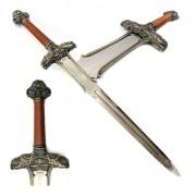 - Espada Em Aço Conan O Barbaro Tamanho Real Suporte De Parede