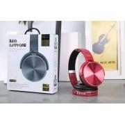 - Fone Hedphone Bluetooth Extra Bass 950-bt Micro Sd Vermelho