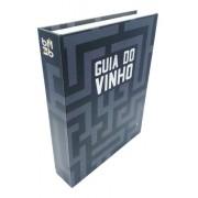 Kit Livro 5 Peças Saca Rolha Vinho Tampa Acessórios Anel M11