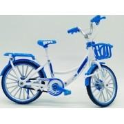 - Miniatura Bicicleta De Passeio Cesta Bike Garupa Die Cast