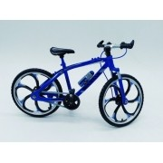 - Miniatura Bicicleta Moutain Bike Mini Azul Crazy