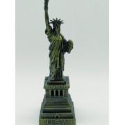 - Miniatura Estatua Liberdade New York Metal Enfeite 15cm