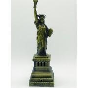 - Miniatura Estatua Liberdade New York Metal Enfeite 24cm