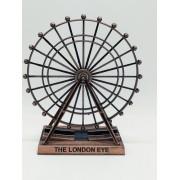 Miniatura Roda Gigante Londres London Eye Decoração Bronze