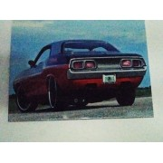 Placa Metal Carro Esporte Classico Muscle Car 26x20cm
