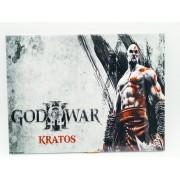- Placa Metal God Of War Kratos 27x20cm Ask The Axe Game